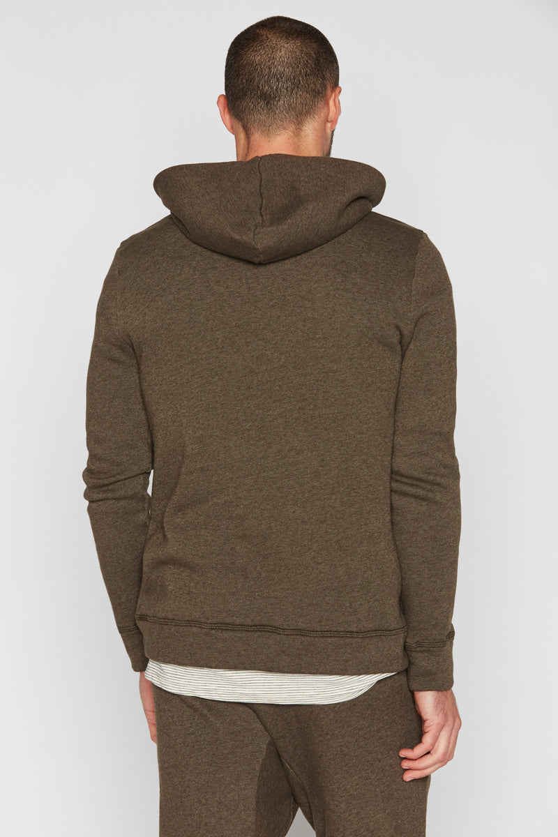 Men's French Terry Pullover Hoodie