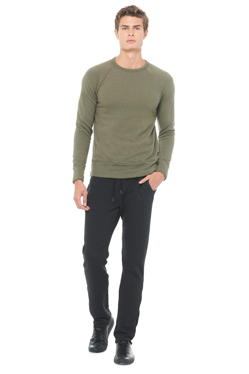 Men's French Terry Relaxed Fit Pullover Sweatshirt