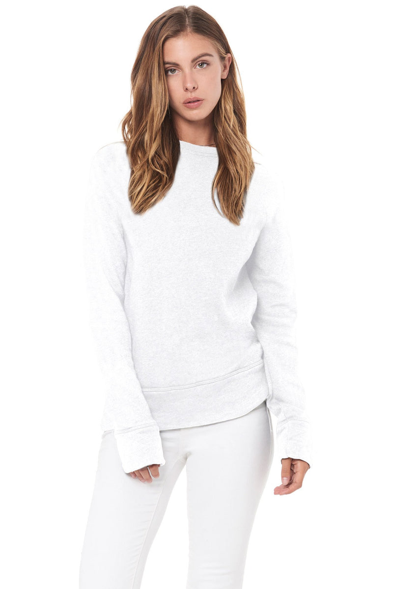 Women's French Terry Relaxed Fit Pullover Sweatshirt