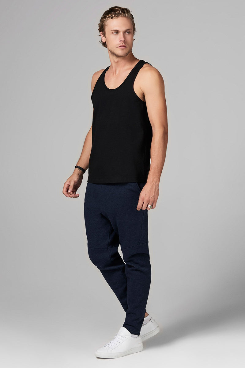 Men's Heavy Cotton Scoop Neck Tank Top