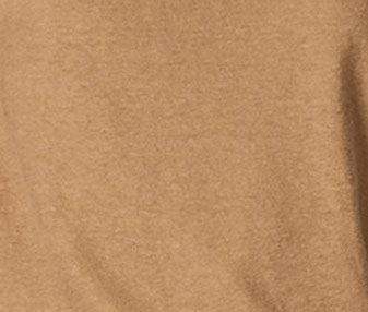 WOMEN'S LINEN BLEND POCKET TEE - CAMEL