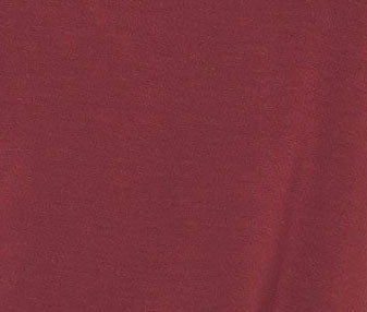 WOMEN'S LINEN BLEND POCKET TEE - MAROON