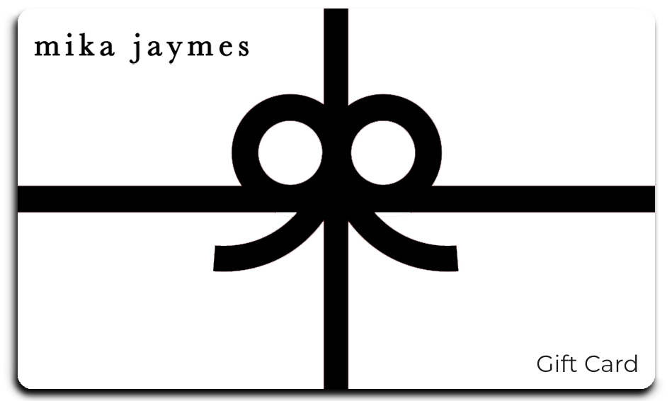 the mika james gift card