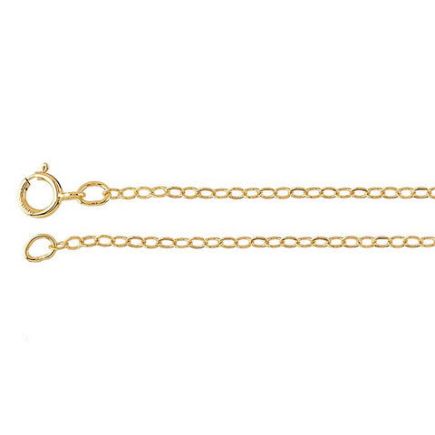 1.7mm 14/20 Gold Filled Cable Chain
