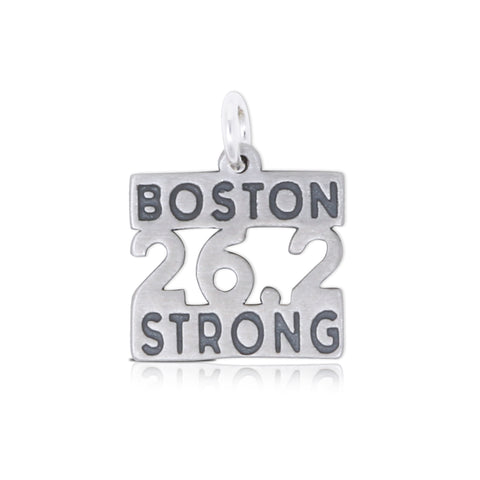 Large 26.2 Boston Strong Charm