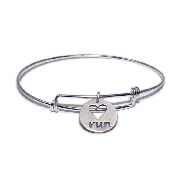 Heart Run Bangle