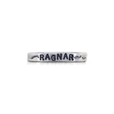 "Handstamped ""Ragnar"" Ring"