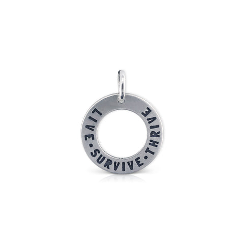 Live.Survive.Thrive Washer Charm