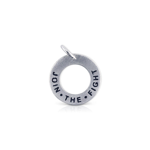 Join.The.Fight Washer Charm
