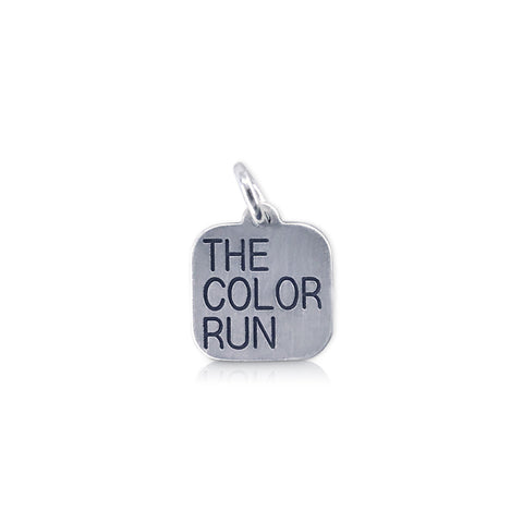 """The Color Run"" Square Charm"