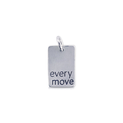 Rectangle EveryMove Charm