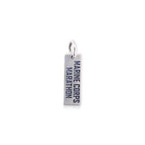Large Rectangle Marine Corps Marathon Charm