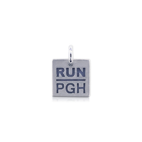 Square RUN PGH Charm