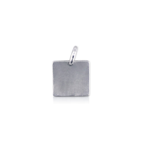 "Square ""Love Pink"" Charm"
