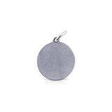 Large Round Runner of Steel Charm