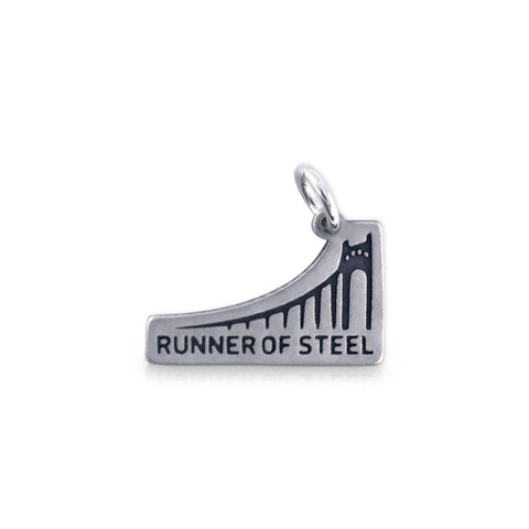 Runner of Steel Bridge Charm