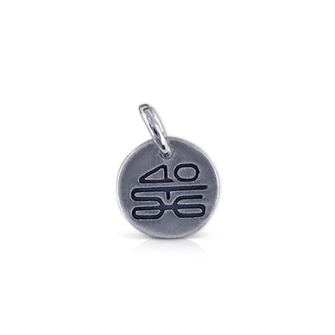 Small Round St George Marathon 40th Logo Charm
