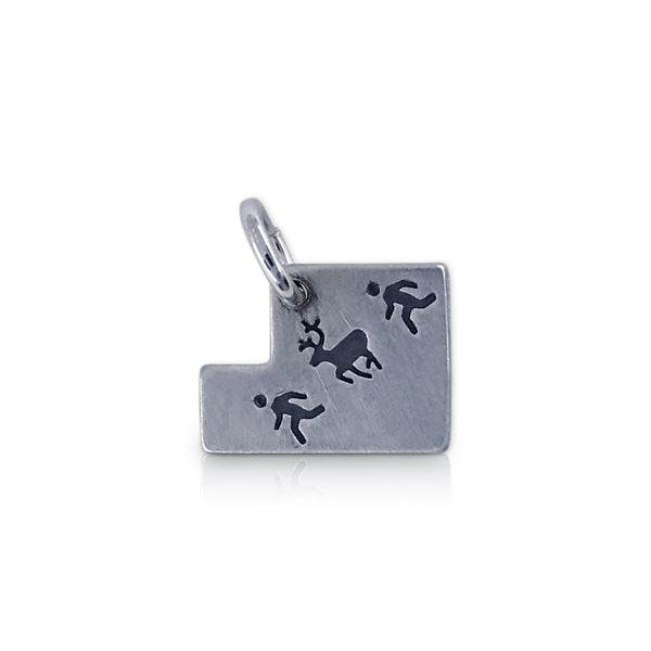 Utah Shaped TOU Logo Charm
