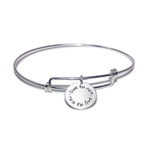 Live to Run Bangle