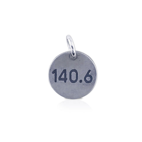 "Small Round ""140.6"" Charm"