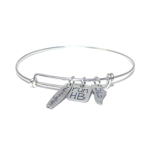 Run 26.2 in HB Bracelet Set