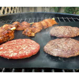 Non-Stick Reusable BBQ Liners - 2 pack - Bake-O-Glide