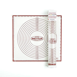 Bake-O-Glide™ Compact Silicone Printed Pastry Mat - Bake-O-Glide
