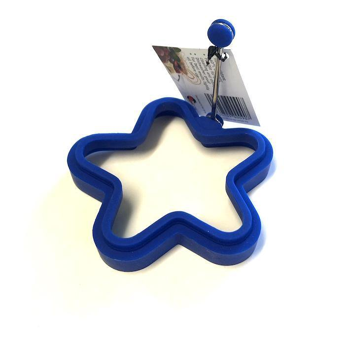 Silicone Egg / Pancake Ring, Star Shape - Bake-O-Glide