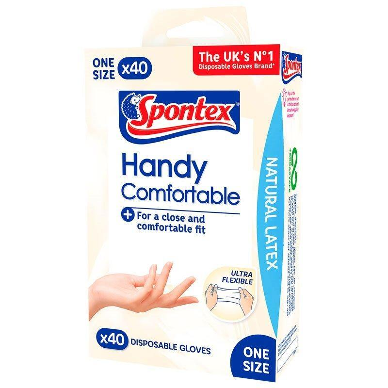 Handy Comfortable Disposable Gloves (40 pack) - Bake-O-Glide®