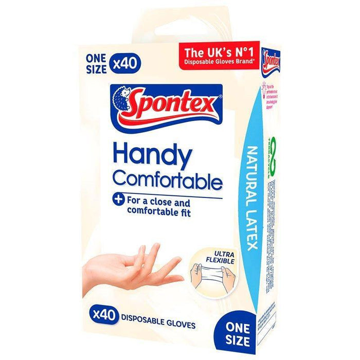 Handy Comfortable Disposable Gloves (40 pack)