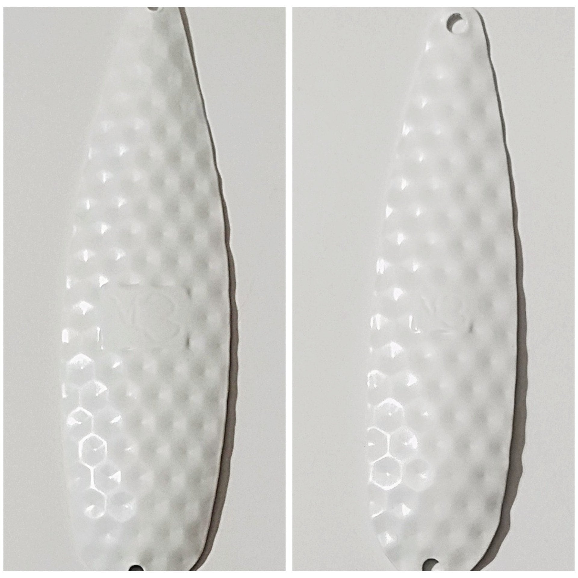 """Pearl White Sparkle"" Spoons - M3Tackle"