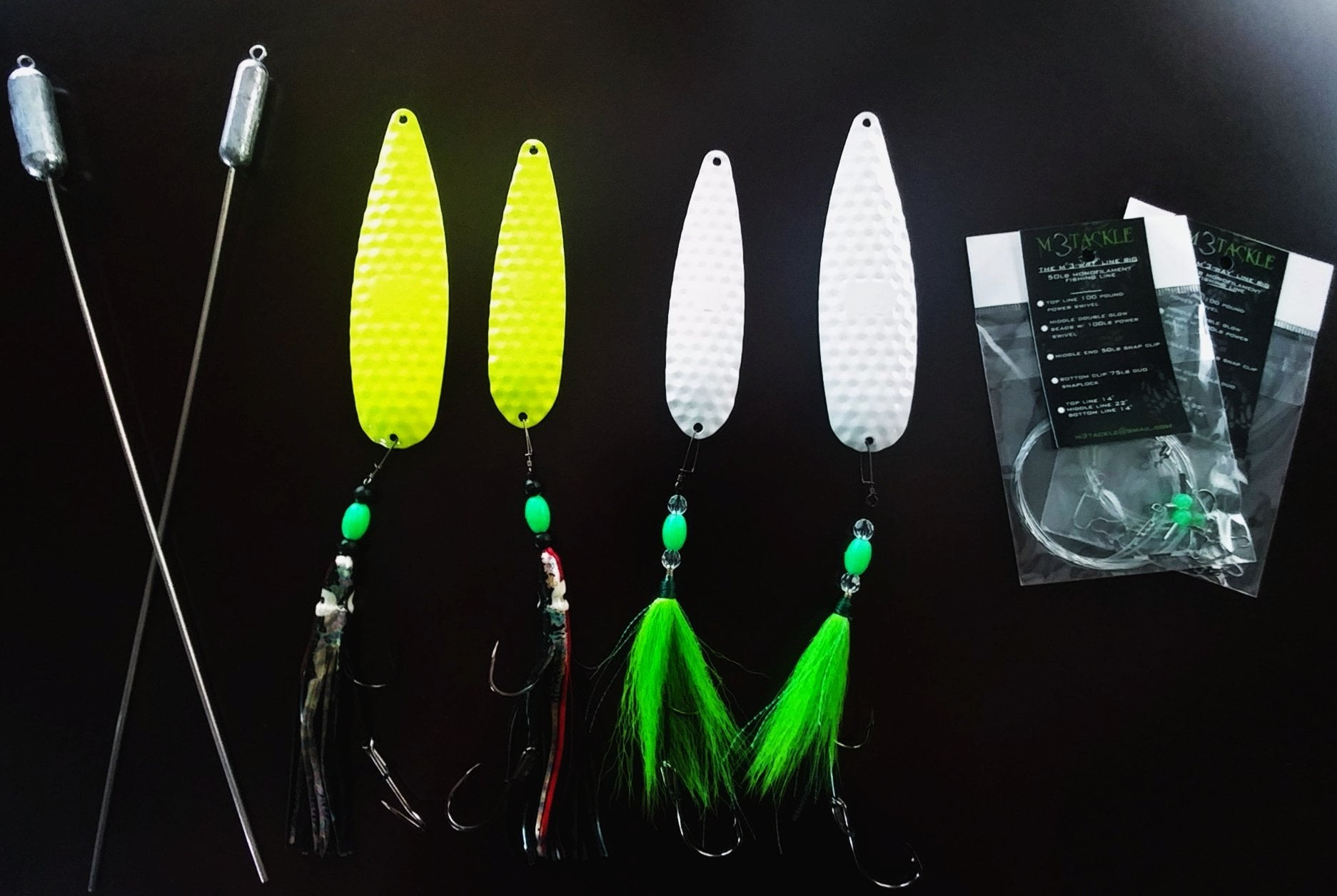 "M3 ""GLOW"" Package - M3Tackle"