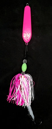 """Shocker Pink"" Spoon Jig"