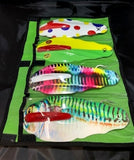 4 Pocket Roll-Up Lure Bag
