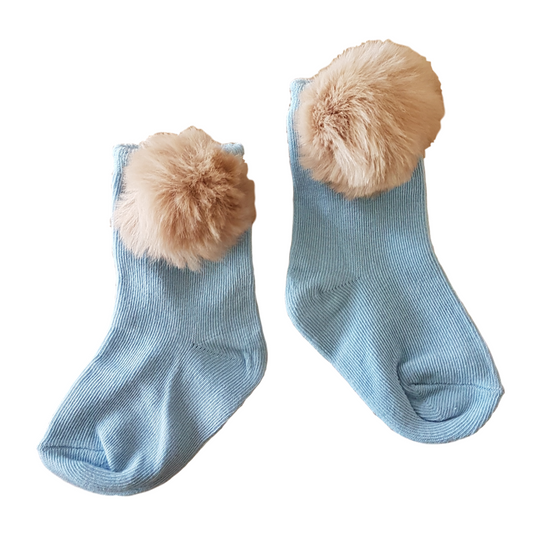 Peter Rabbit Ankle Socks in Sky Blue