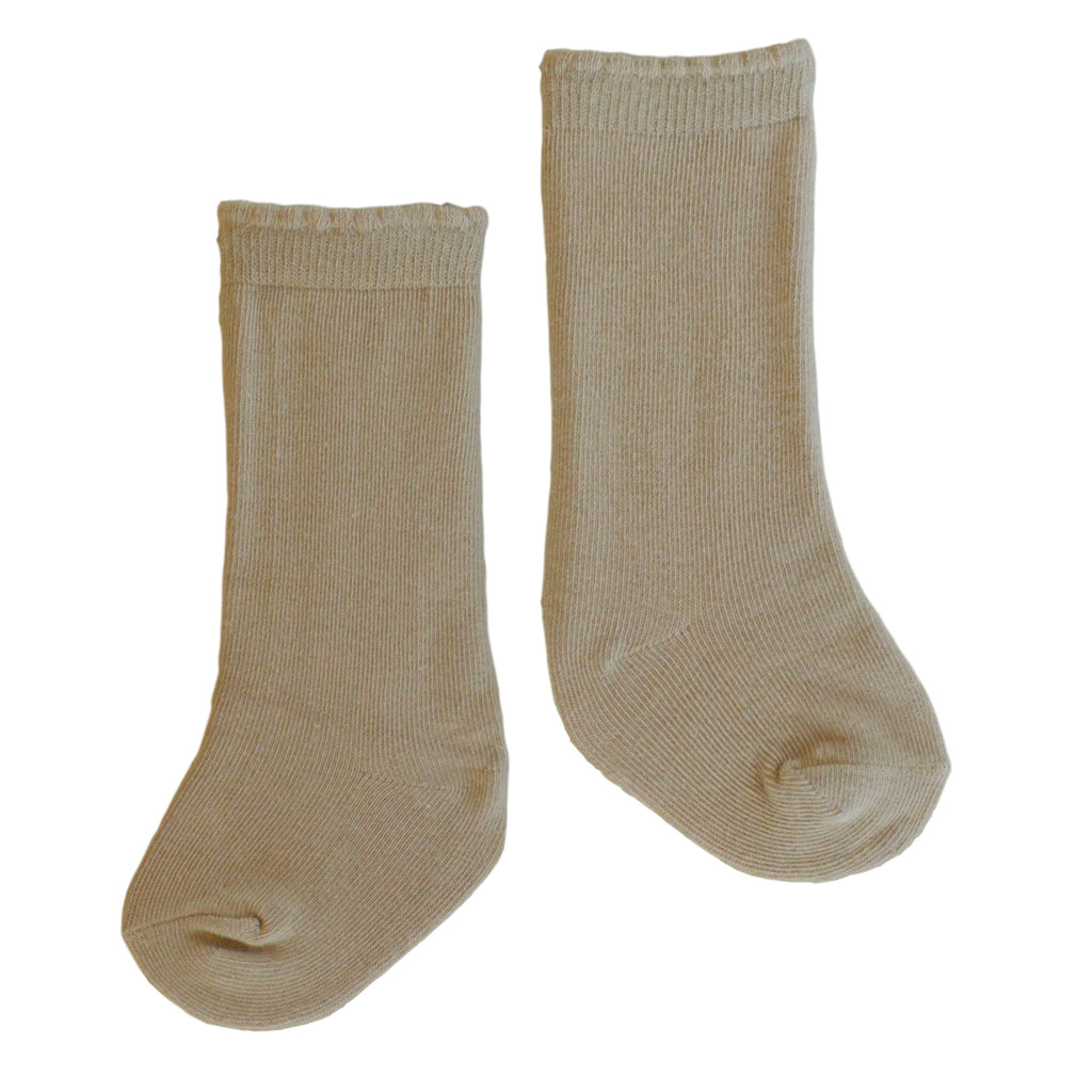 Quinn Knee Socks in Camel