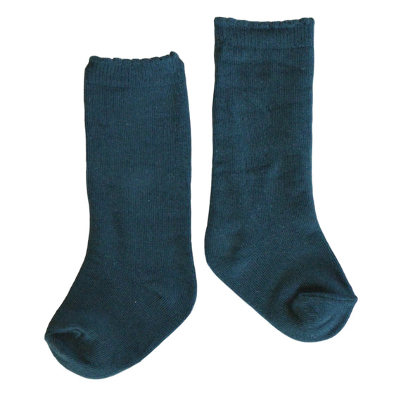 Quinn Knee Socks in Forest Green