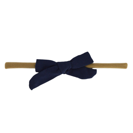 Evie Bow in Navy