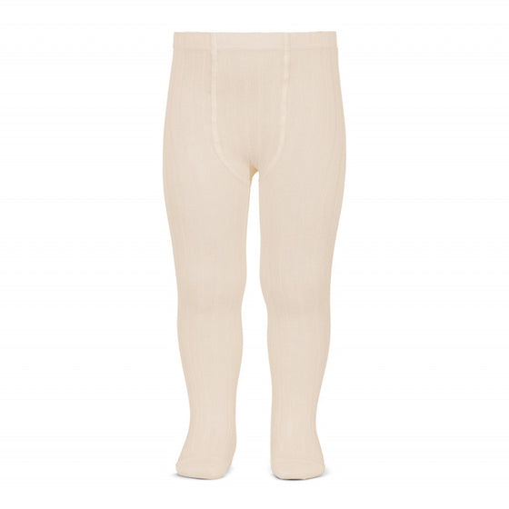 Condor Ribbed Tights (304) Linen