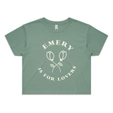 Emery is for Lovers Crop Top