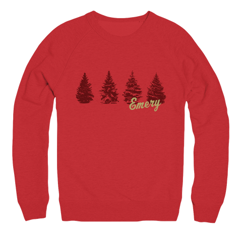 Red Winter Sweatshirt