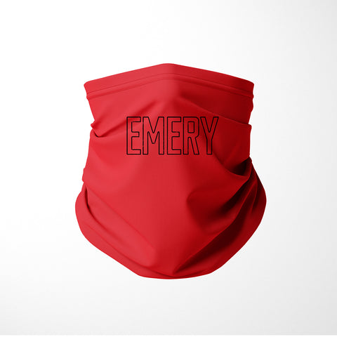 Red Emery Gaiter