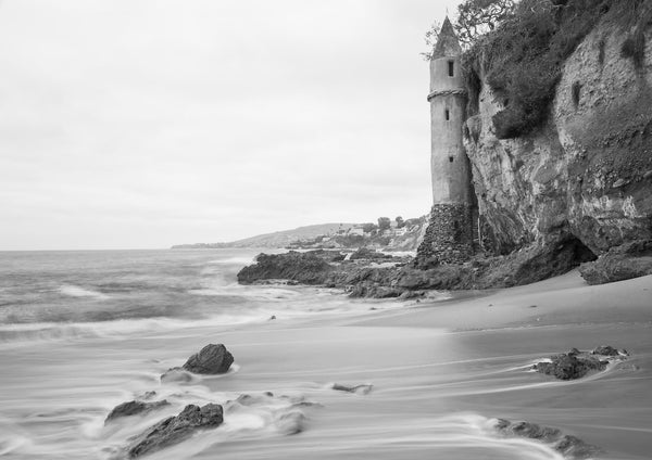 A photo of a castle on the beach. Photo is a free high resolution stock image to use any way you choose.
