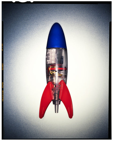 A photo of a toy rocket. Photo is a free high resolution stock image to use any way you choose.