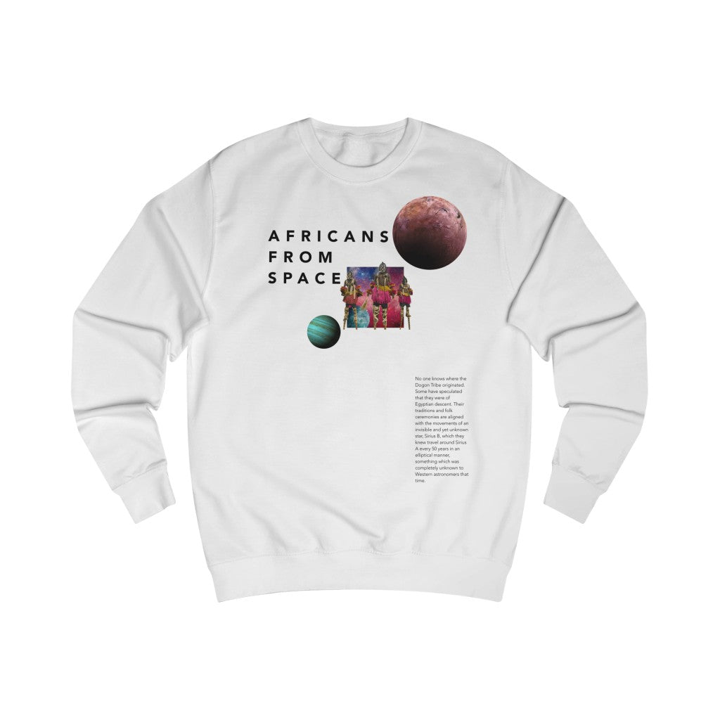 Africans from Space Sweatshirt