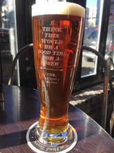 23oz Pint Glass