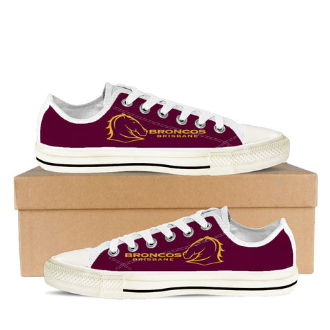 Brisbane Broncos Fan Till I Die Women's Low Tops