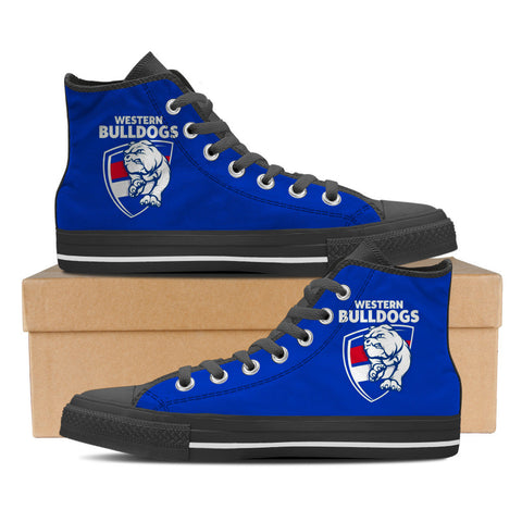 Western Bulldogs Women's High Top Shoes