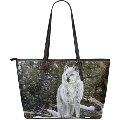 Wolf Series Large Leather Bag