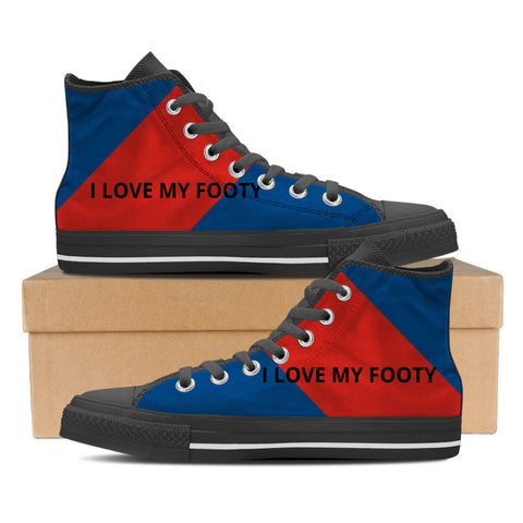 Newcastle - I Love My Footy Men's High Tops